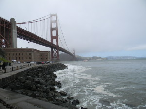 golden gate at fort point